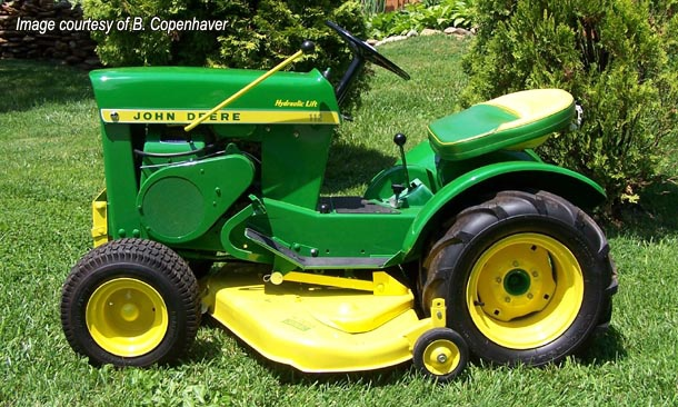 John Deere 112 Garden Tractor This Page Is Dedicated To All Things For The John Deere 112